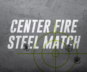 Center Fire Steel Match