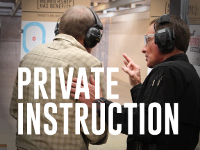 Private Instruction on the Range