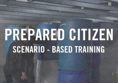 Prepared Citizen Scenario-Based Training