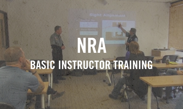 NRA Basic Instructor