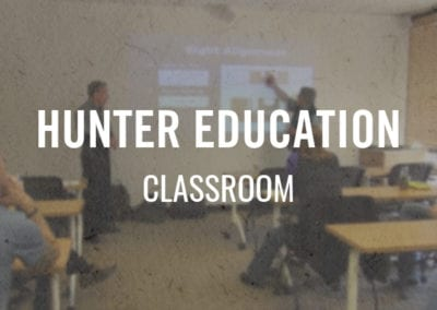 Hunter Education – Classroom