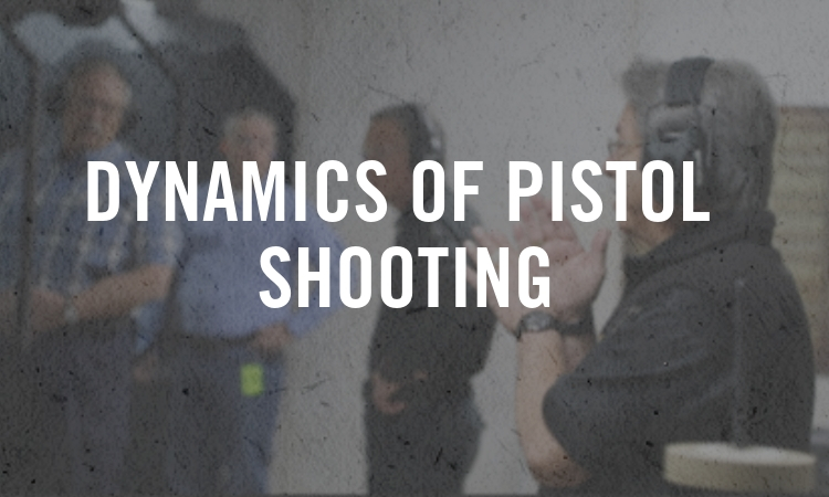 Dynamics of Pistol Shooting