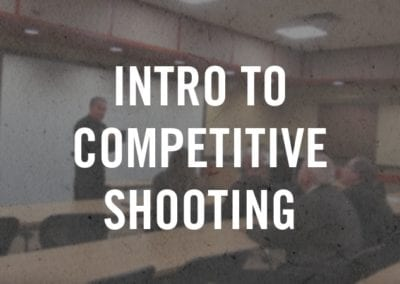Intro to Competitive Shooting